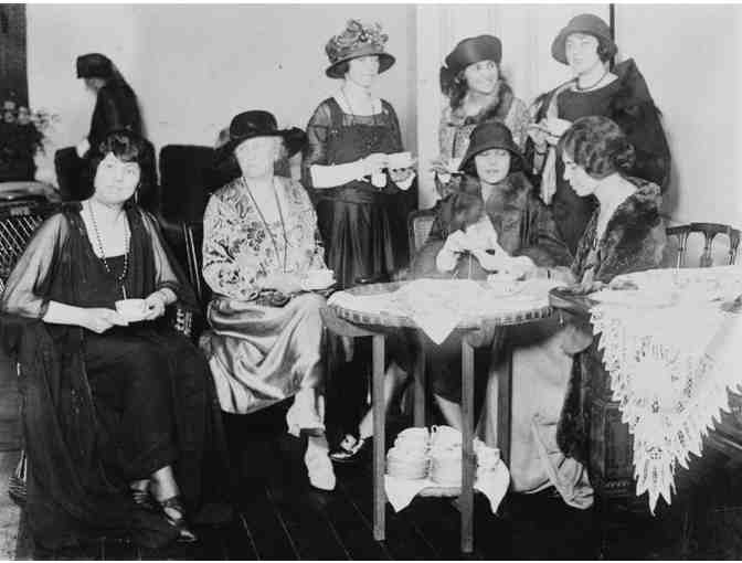 'No More Pink Teas' Woman Suffrage Talk