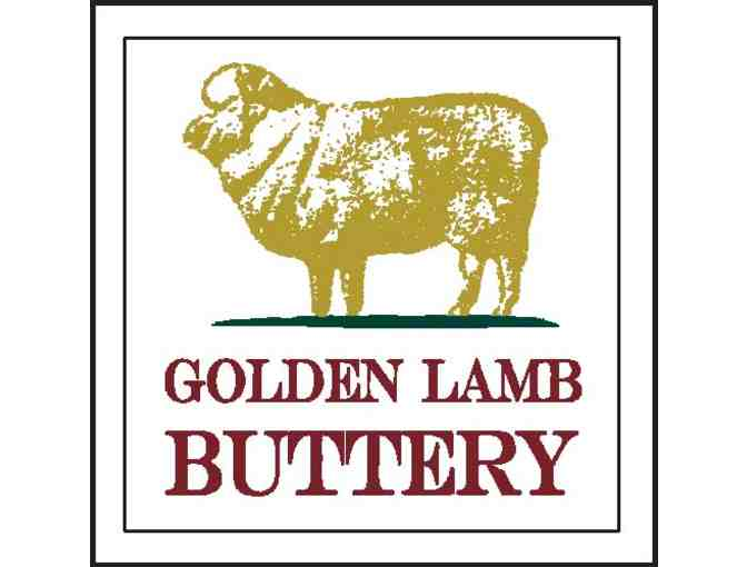A Locavore Gourmet Dream: Dinner for 2 at The Golden Lamb Buttery
