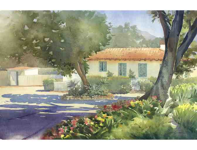Original watercolor painting of a subject of your choice by Jan Evans, California artist