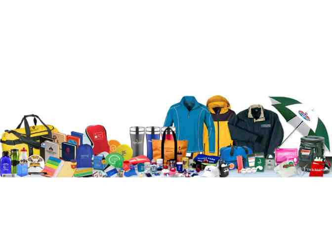 Your Choice of $250 in Promotional Products Customized with Your Own Logo