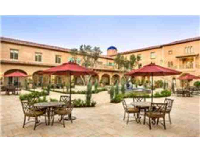 Paso Robles - Allegretto Vineyard Resort - one night stay