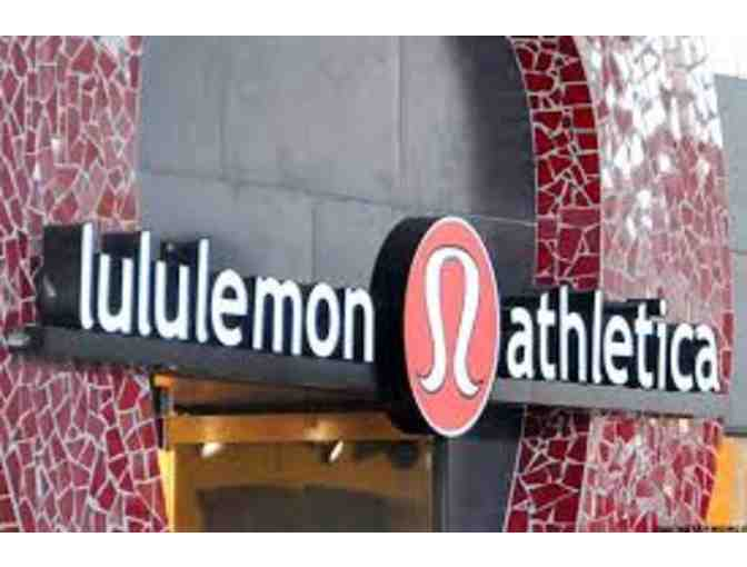 Lululemon $100 Gift Card