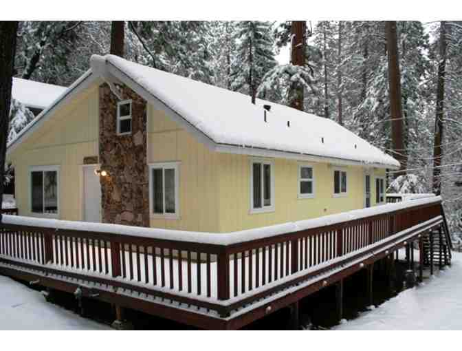 Twain Harte, CA - Two Night stay in four bedroom two bath cabin.
