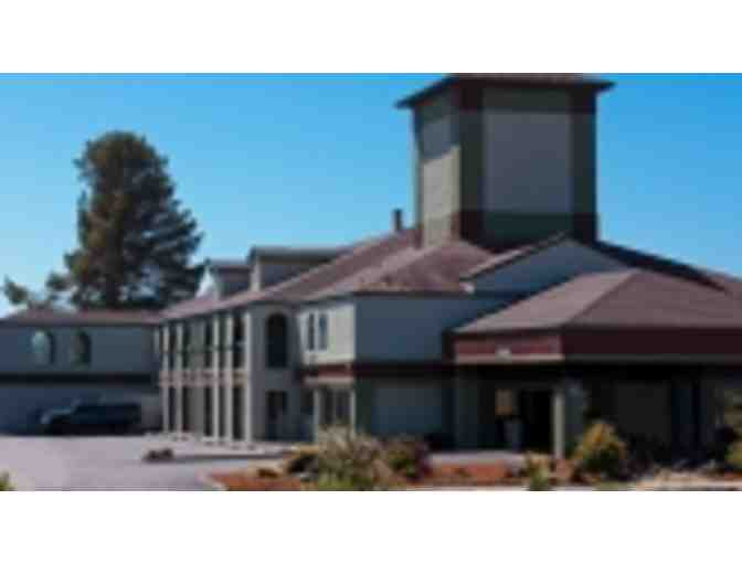 Fortuna, CA - The Redwood Riverwalk Hotel - Two night stay in family suite for four