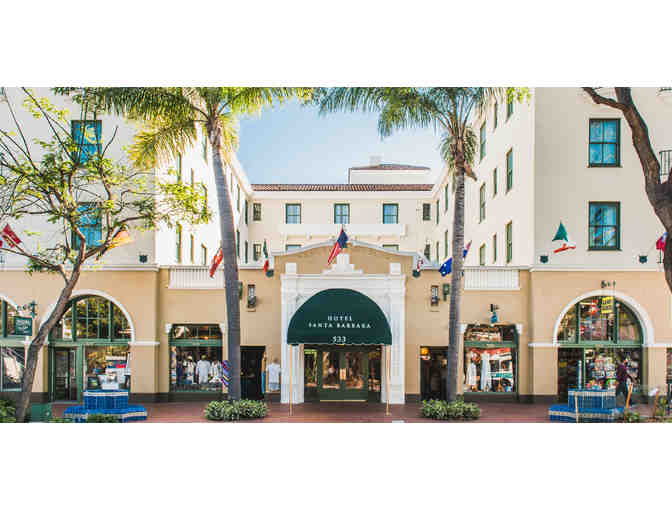 Santa Barbara, CA - Hotel Santa Barbara - 1 night with continental breakfast for 2