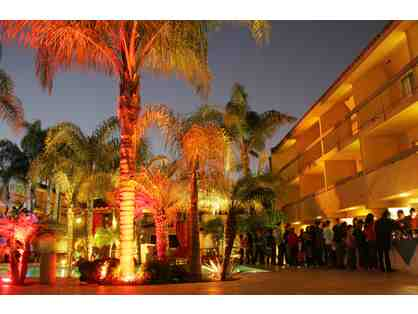 Irvine, CA - Atrium Hotel - 2 night stay in deluxe pool view room with breakfast for two