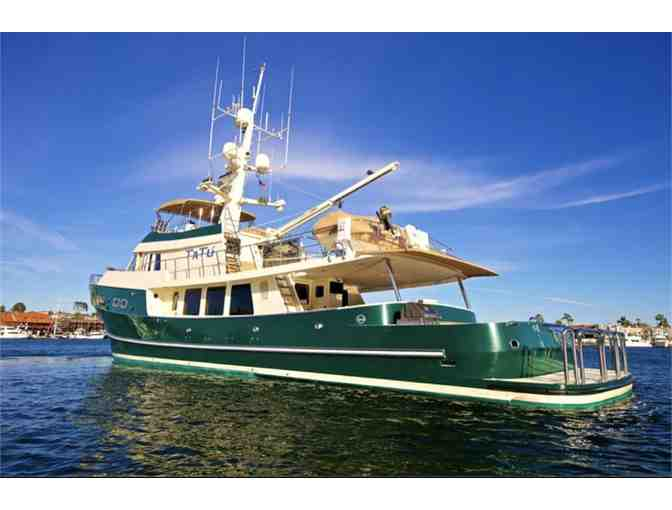 Newport Beach, CA - Sunset Cruise in Newport Harbor on Delta Marine 93' TATU for 10 Guests