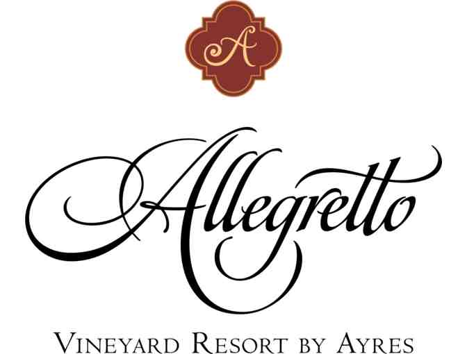 Paso Robles, CA - Allegretto Vineyard Resort - Two night stay