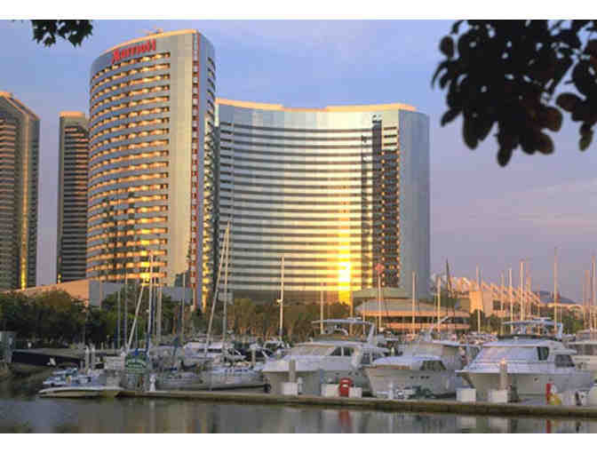 San Diego, CA - Marriott Marquis San Diego - Two night stay in a bay view room