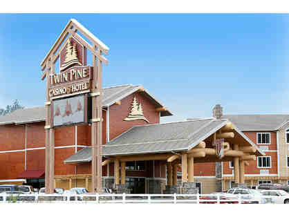 Middletown, CA - Twin Pines Hotel & Casino - Eat, Stay, Play Package