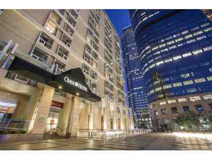 Los Angeles, CA - Omni Hotel Los Angeles at California Plaza - one night stay