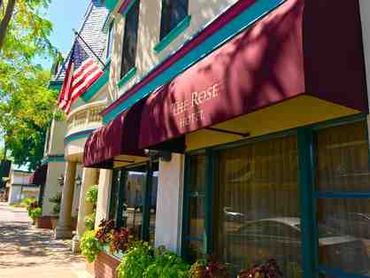 Pleasanton, CA - The Rose Hotel - one night stay