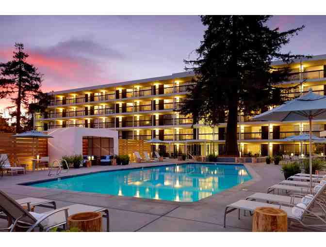 Santa Cruz, CA - Hotel Paradox - One night stay in a Poolside King includes parking