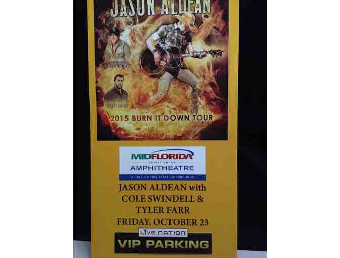 2 VIP Tickets to Jason Aldean Concert