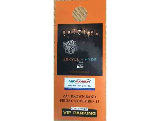 (2) Zac Brown VIP Band Tickets