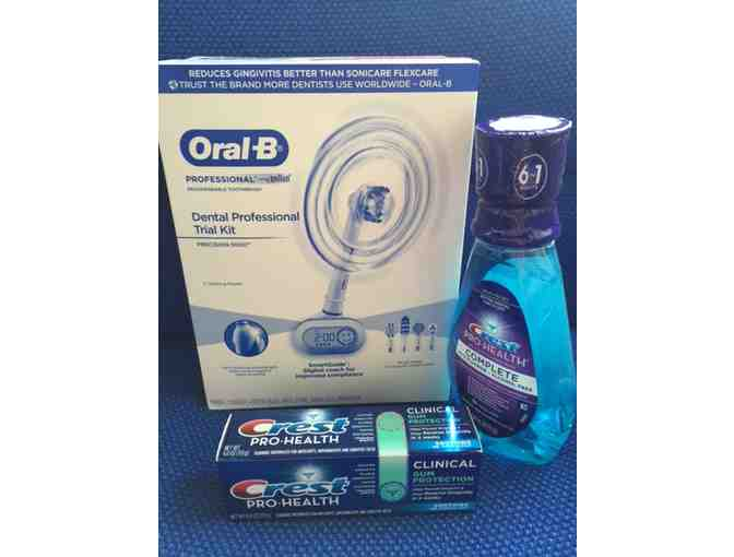 Oral B Professional Rechargeable Toothbrush kit $159 Value!