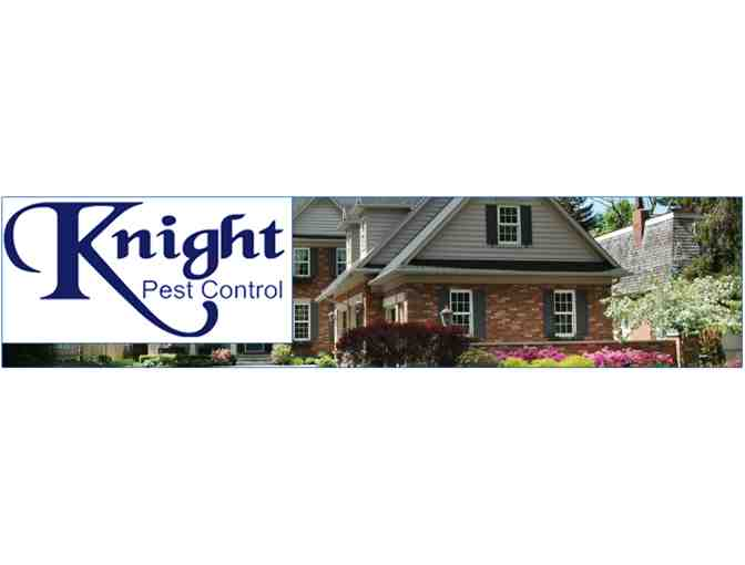 One Year Pest Free with Knight Pest Control!  $315 Value