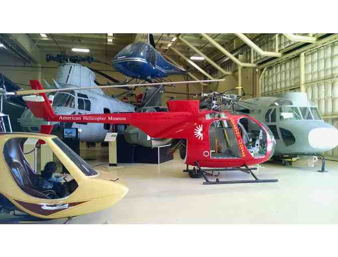 American Helicopter Museum - Two Complimentary Admission Tickets