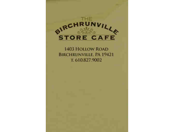 Birchrunville Store Cafe - $100 Gift Card