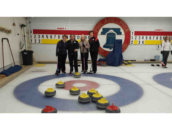 Philadelphia Curling Club - Learn to Curl Session for 8 People