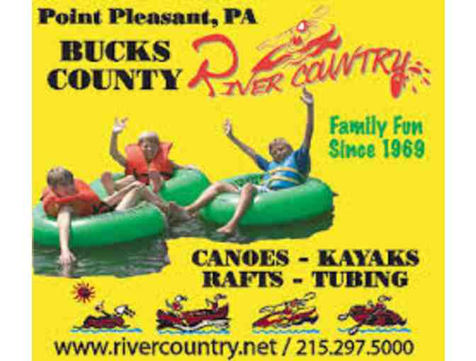 Bucks County River Country - 2 Weekday Tubing Passes