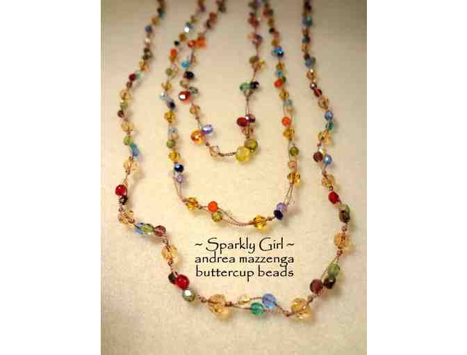 Buttercup Beads - One Jewelry Making Class with Andrea Mazzenga