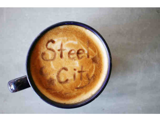 Steel City Coffeehouse - $10 Gift Card and Coffee Cup