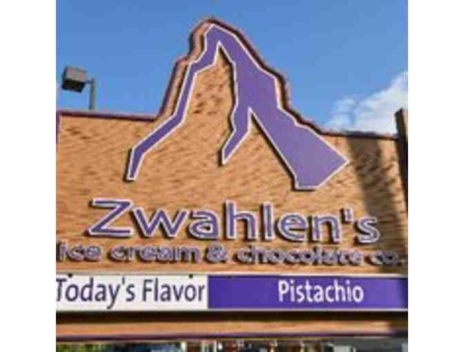 Zwahlen's Ice Cream & Chocolate Company - $20 Gift Card