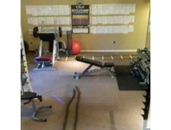 Lift and Live Fitness - $149 Gift Certificate