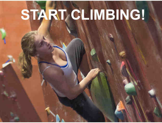 Philadelphia Rock Gym - Intro to Climbing Package