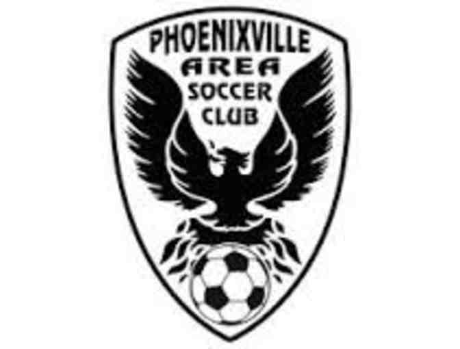 Phoenixville Area Soccer Club - $100 Coupon, Soccer Ball and Jersey