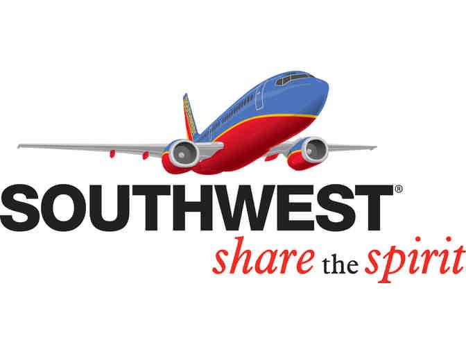 (1) Round Trip Southwest Airline Ticket