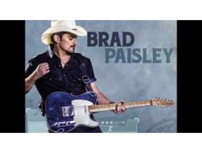 (2) VIP Brad Paisley w/Kane Brown & Dan Tyminski Concert Tickets 7/20/2018 - Photo 1