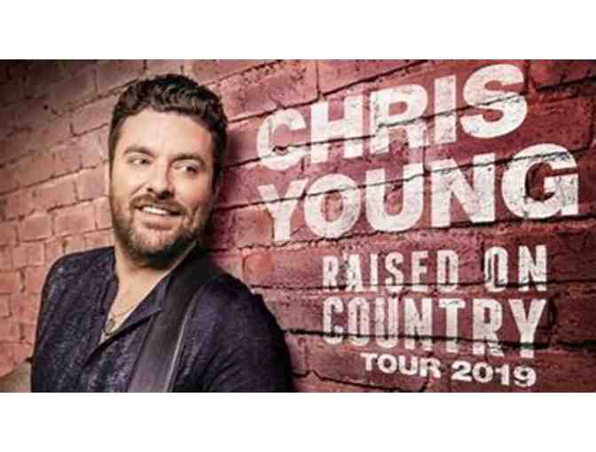 (2) VIP Chris Young w/Chris Janson Concert Tickets 8/9/19 - Photo 1