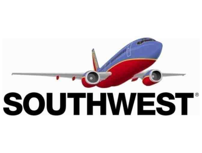 (1) Round Trip Southwest Airline Ticket