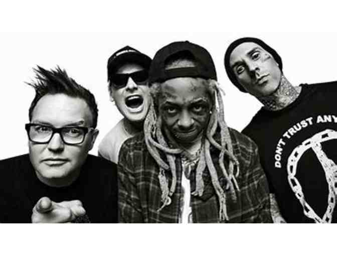 (2) VIP Blink 182 w/Lil Wayne Concert Tickets #2 - Photo 1
