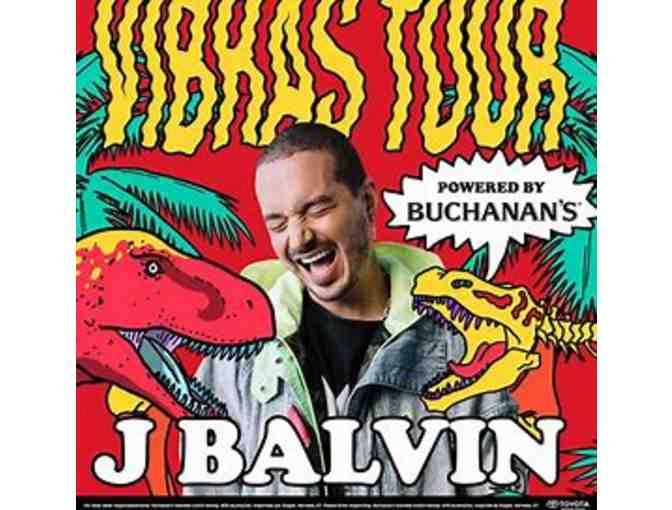 (2) J. Balvin Concert Tickets #1 - Photo 1