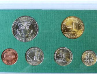 2005 Lewis and Clark Uncirculated Mint Proof Bank Set.