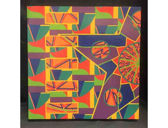 Geometric painting by Harold Edwards