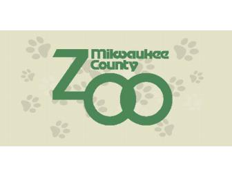 2 Admission Tickets to the Milwaukee County Zoo