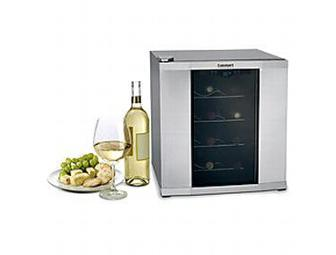 Private Reserve 16-Bottle Countertop Wine Cellar- Stainless Steel