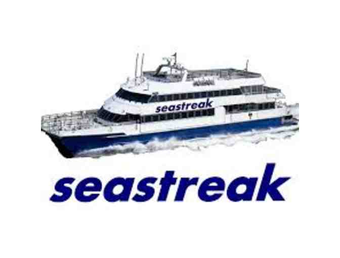 Seastreak: 2 Round Trip Tickets to Sandy Hook Beach - Photo 1