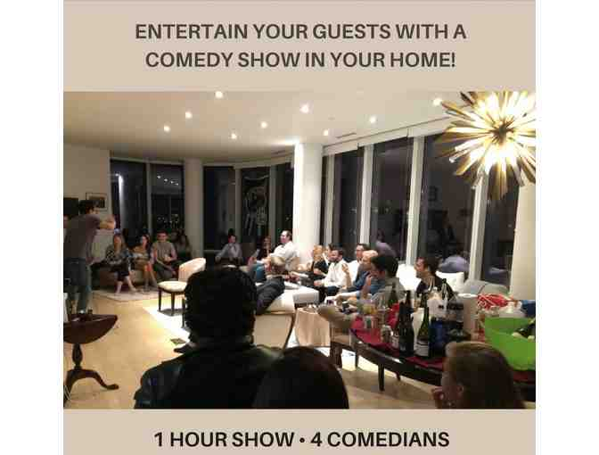 Best Dinner Party Ever: 1 Hour Comedic Show with Food & Wine! - Photo 1