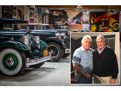 1 AMAZING 4 Person Tour of Jay Leno's Garage