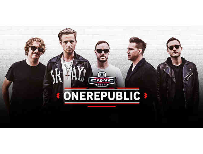 Tickets for 4 and a Meet & Greet with OneRepublic on August 2 at Xfinity Theater Hartford