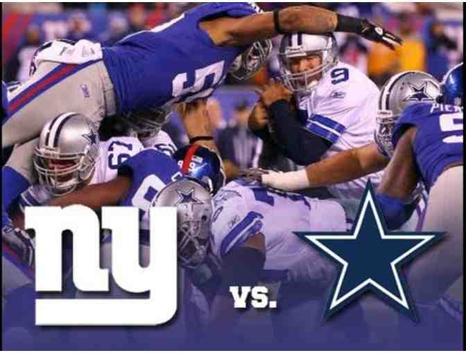 Giants vs. Cowboys - 4 Tickets to the Pepsi Suite at Met Life Stadium - Food & Drink Inc.