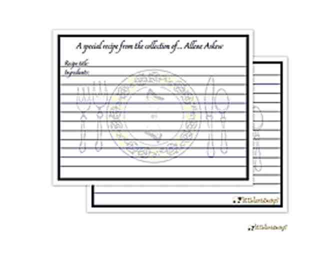 Embossed, High Quality Personalized Stationery (Set of 50) from 'The Write Choice'