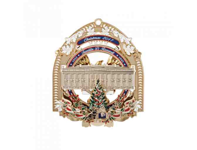The Beautiful Official 2017 White House Christmas Ornament!