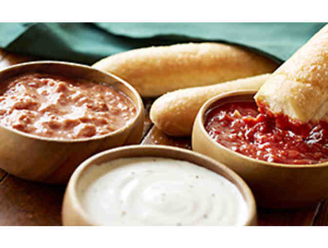 Italian Dinner or Lunch at Olive Garden!  Locations All Over the U.S.!    $50 Gift Card!