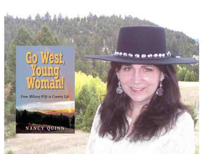 Nancy Quinn's Sequel 'Stay West, Young Woman!' Published Summer 2018!